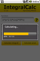 Screenshot of IntegralCalc