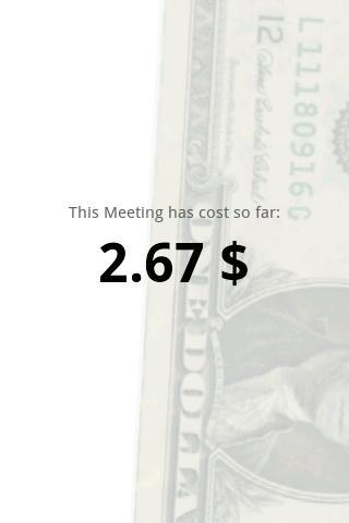 Meeting Cost Meter