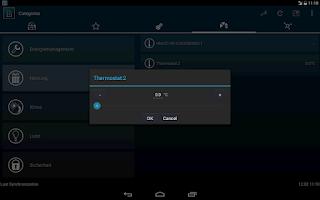 Screenshot of HomeDroid - HomeMatic Remote