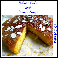 Polenta Cake with Orange Syrup