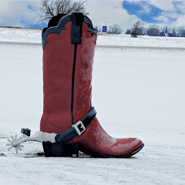 Some one got the boot. by Carolyn Kernan - Artistic Objects Clothing & Accessories (  )