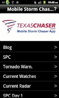 Screenshot of Mobile Storm Chaser