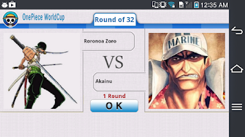 Screenshot of OnePiece WorldCup