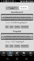 Screenshot of iTIVA pro Anesthesia