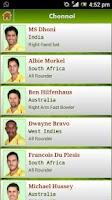 Screenshot of I.P.L. 6 Live Cricket