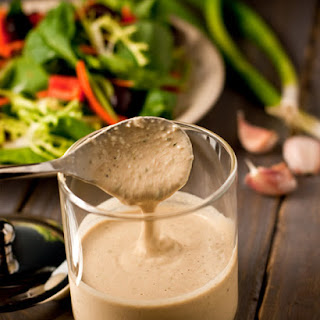 Zesty Tahini Oil-Free Dressing