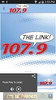 Screenshot of 107.9 The Link