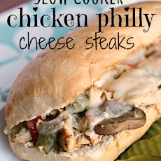 Chicken Philly Cheese Steaks