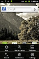 Screenshot of Gingerbread Launcher free