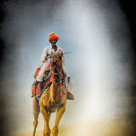 INn the Thar Desert (Rajasthan) (India) by Dimitar Pavlov - People Portraits of Men ( thar, india )