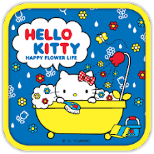 Hello Kitty Happy Bathe Theme