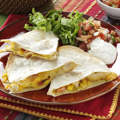 Apple Chicken Quesadillas