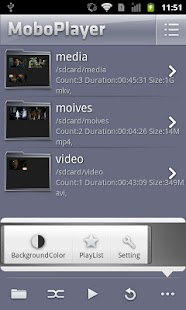 Screenshots  MoboPlayer