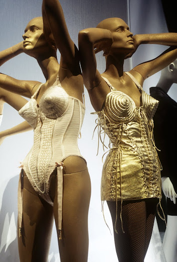 Long disparaged as a symbol of female oppression, the corset was reconceived as a symbol of female sexual empowerment by Madonna, aided and abetted by Jean Paul Gaultier.