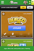 Screenshot of Buraco NetCartas