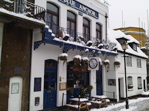 Proper Pub near Hammersmith Bridge