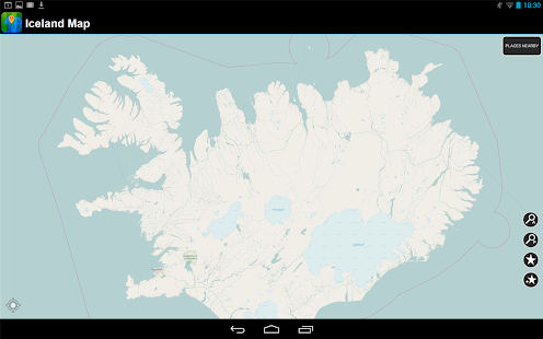 Offline Iceland Map - screenshot