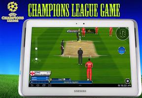 Screenshot of Champions League Cricket Game