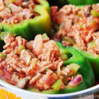 Clean Eating Stuffed Bell Peppers