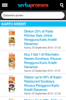 Screenshot of Serba promosi