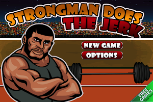 Screenshot of Strongman Does the Jerk Free