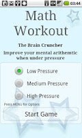 Screenshot of Brain Training - Math Workout