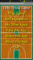 Screenshot of Trivia Game Boston Celtics Ed