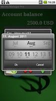 Screenshot of MoneyManager Pro