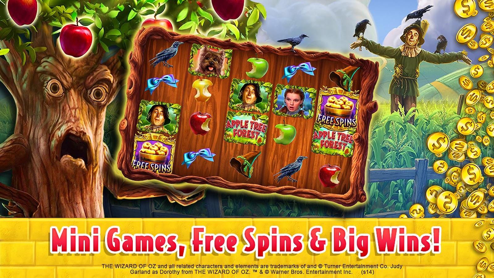 Slots plus free spins