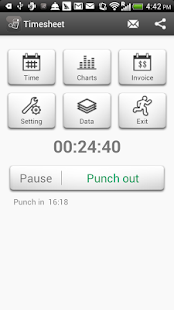 Timesheet - Work Time Tracker Business app for Android Preview 1