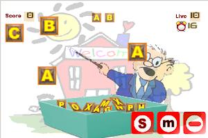 Screenshot of Belajar Abjad A - Z