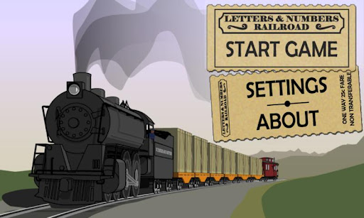 Letters Numbers Railroad HD