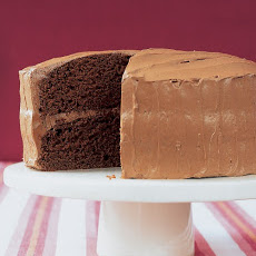 Velvet Cocoa Cake with Instant Buttercream