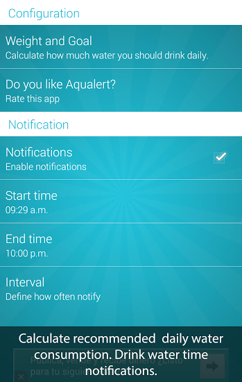 Aqualert:Water Tracker Premium Screenshot 3
