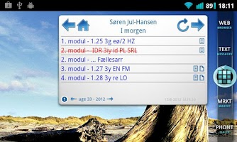 Screenshot of Lectio Widget Free