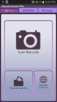 Screenshot of BarCode Scanner Plus