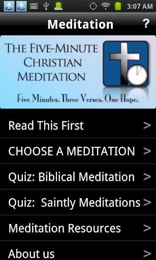5-Minute Christian Meditation