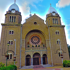 my church by LADOCKi Elvira - City,  Street & Park  Historic Districts ( architecture, objects )