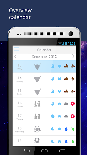 The Big Lunar Calendar - screenshot