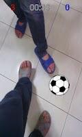 Screenshot of Kick Ball (AR Soccer)