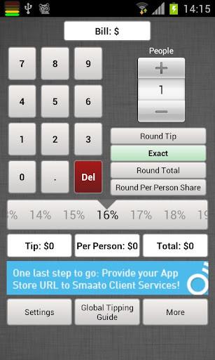 Global Tip Calculator