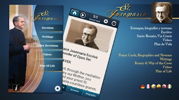 Screenshot of St. Josemaria