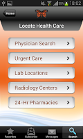 Screenshot of Monarch CareFinder Version 3.0