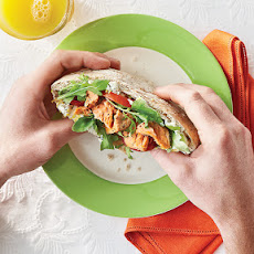 Salmon-Caper Breakfast Pockets