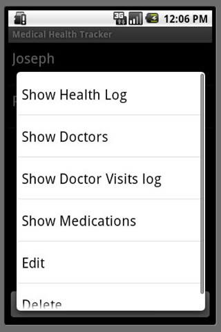 Medical Health Tracker