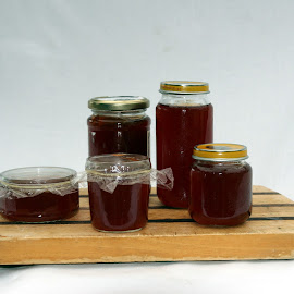 Japonica Jelly by Ian Turnell - Food & Drink Cooking & Baking ( still life, cooking, jelly, preserve, home made )
