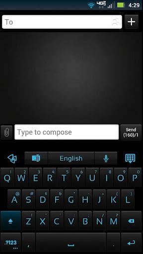 GO Keyboard Shadow ICS