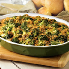 Broccoli and Cheese Rice Casserole