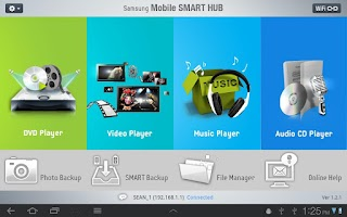 Screenshot of Mobile SmartHub