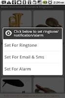 Screenshot of Music Sounds & Ringtones